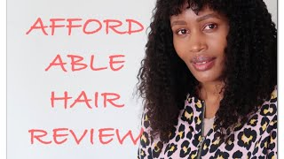 #aliexpress#youmayhair AFFORDABLE WIG REVIEW