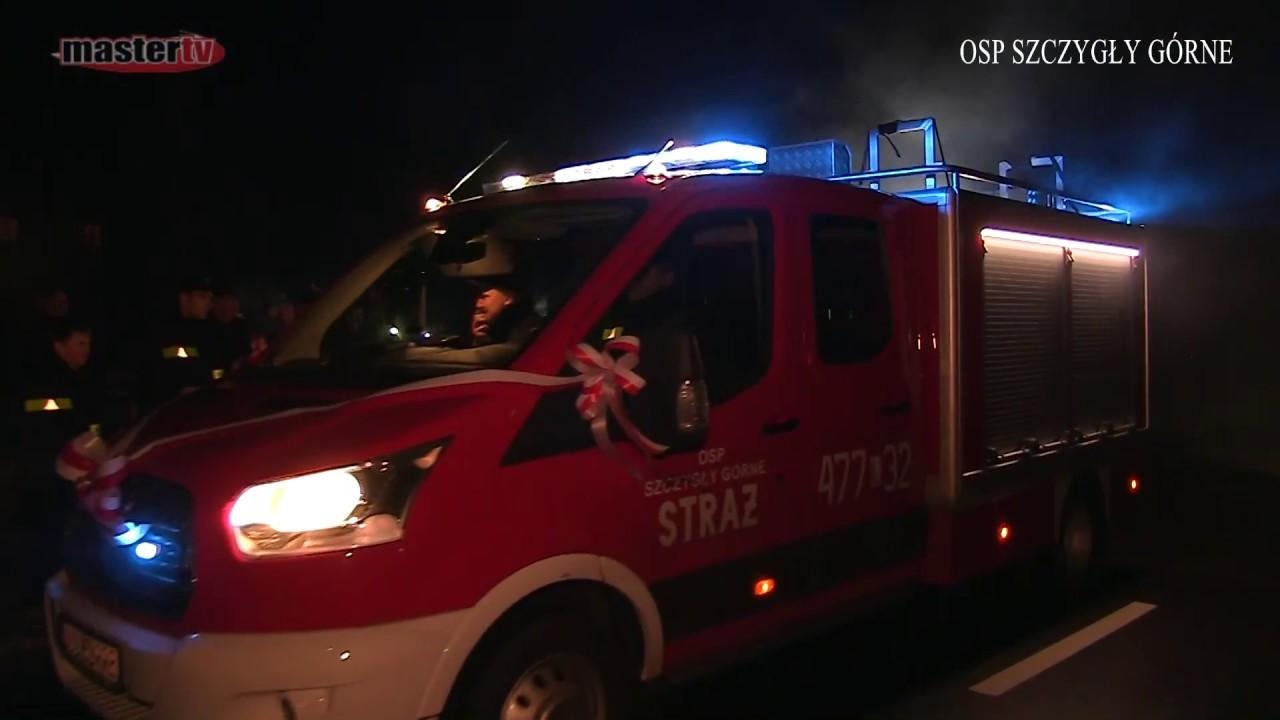 Nowy wóz strażacki OSP Szczygły Górne