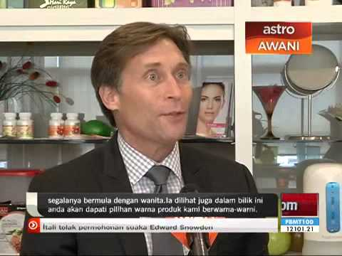 William Wright on Astro Awani Channel 501