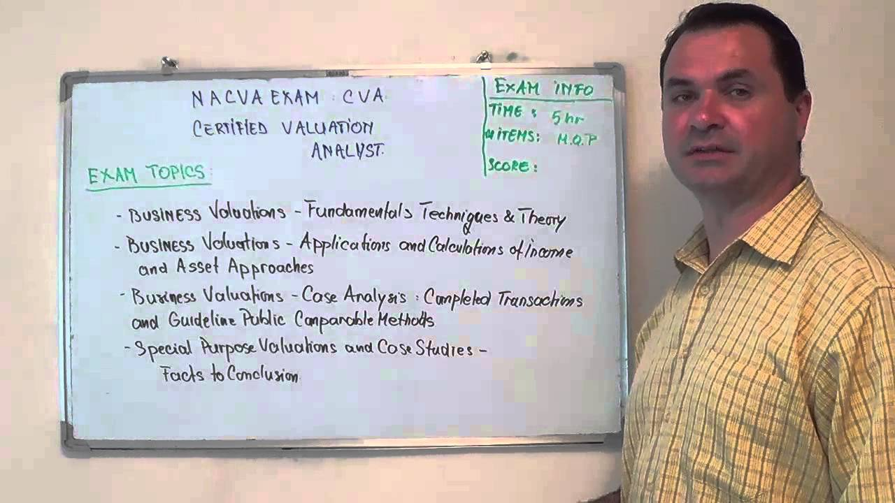 Cva certified test valuation exam analyst questions youtube 1betcityfo Choice Image