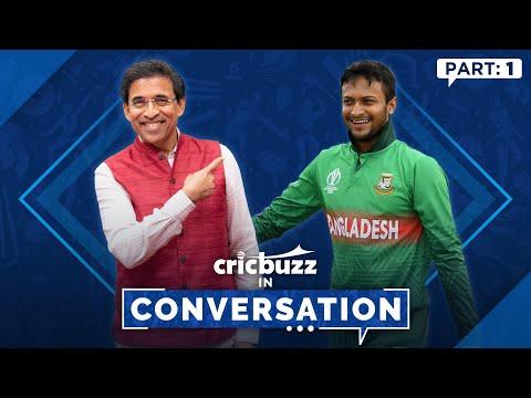 Cricbuzz In Conversation ft. Shakib Al Hasan: Bangladesh's Poster Boy
