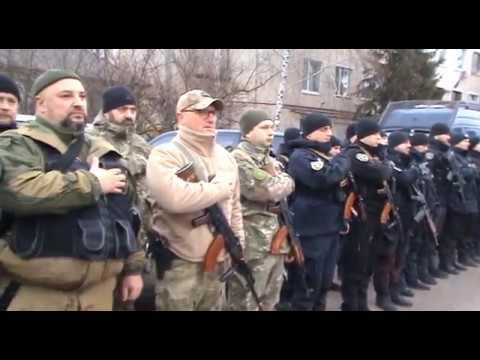 Поліція Луганщини: На Луганщині правоохоронці провели відпрацювання міста Кремінна