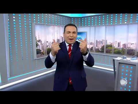 """Início do """"Balanço Geral Especial"""" ao vivo com Reinaldo Gottino - Record TV (16/03/2019)"""