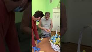 Появилось первое видео Бари Алибасова из психиатрической больницы №1 имени Н.А. Алексеева (Кащенко)