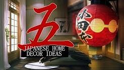 5 Japanese home decor ideas