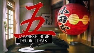 5 Japanese home decor ideas