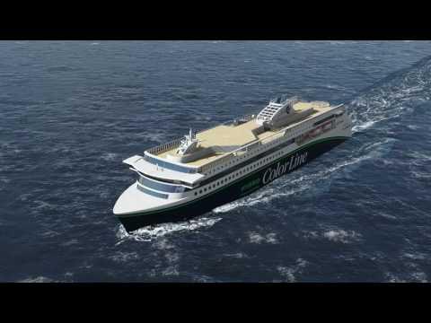Fosen Design/ Concept for new Color Line Hybrid vessel.