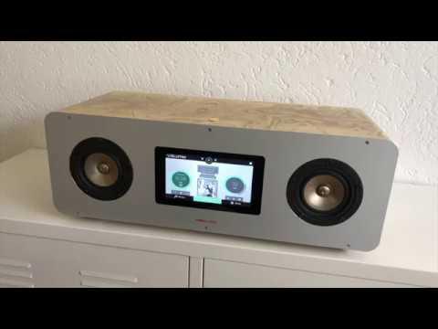 [DIY] Making of PiBox-V01 Raspberry Pi Volumio wooden / aluminum speaker box