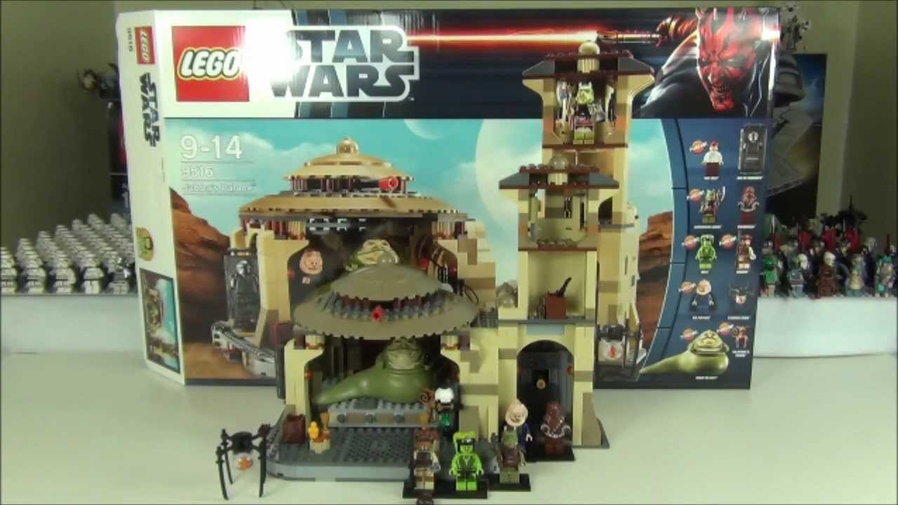 Lego Star Wars Jabbas Palace Set 9516 Review Summer 2012 Youtube