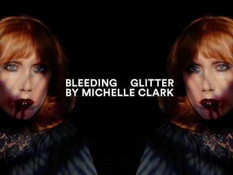 Bleeding Glitter Lip I MAC Halloween Tutorial