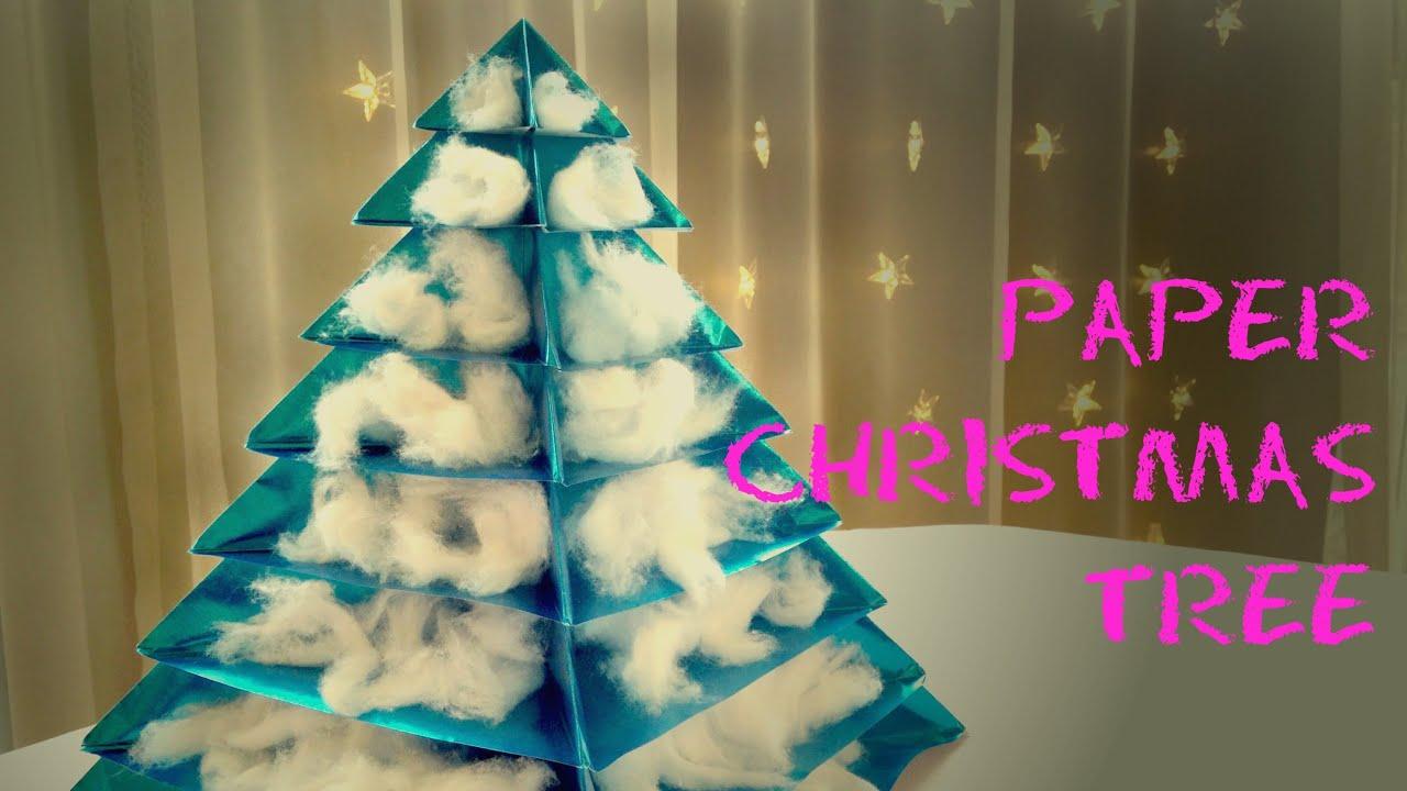 Wrapping paper Christmas tree Božićna jelka od ukrasnog papira