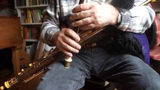 the Fairy Boy, Scotch Mary, on Multidrone Uilleann Pipes
