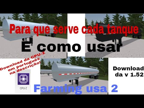 Para que serve cada tanque no Farming usa 2 | Milk tanker/Feed tanker/Manure tanker( + CPU-Z)