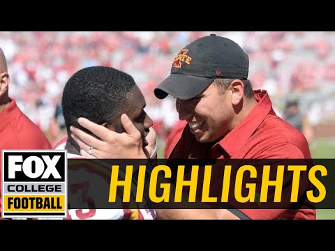 Iowa State vs Oklahoma | Highlights | FOX COLLEGE FOOTBALL