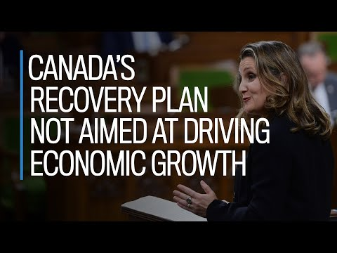 Canada's recovery plan not aimed at driving economic growth