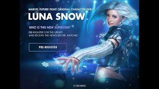 [Marvel Future Fight] Como Registrarte en el evento de LUNA SNOW