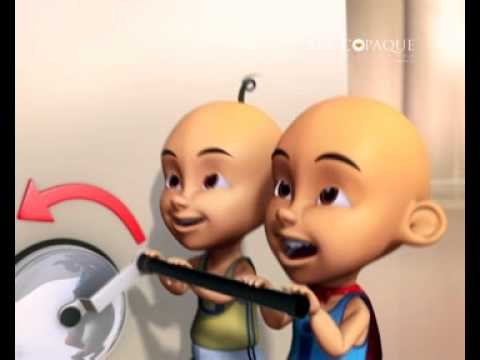 Upin & Ipin In Cracster Commercial