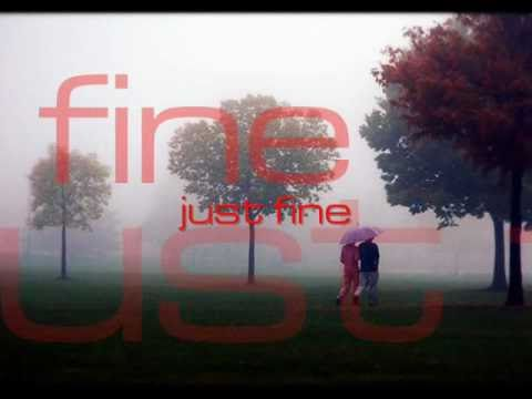 Just Fine - Chris Brown (lyrics on screen)