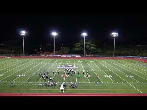 Kailua High School   Oahu Marching Band Festival 2018
