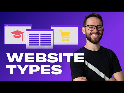 5 Website Types & How To Design Them | Free Web Design Course 2020 | Episode 16