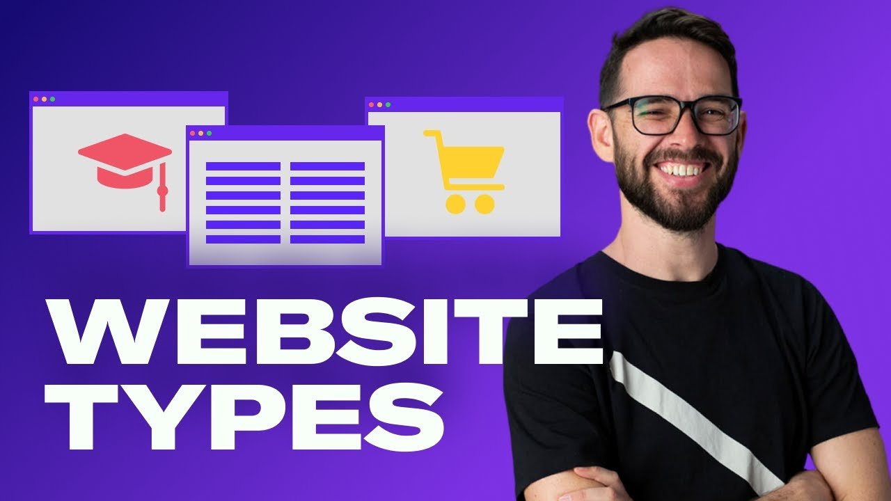 5 Website Types & How To Design Them | Free Web Design Course 2020 | Episode 17