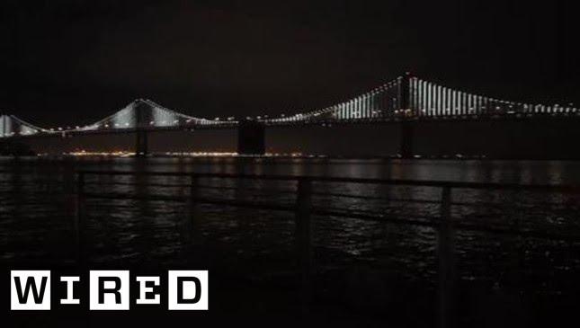 Twinkle Twinkle Giant Bridge - Bay Bridge San Francisco - Wired ...