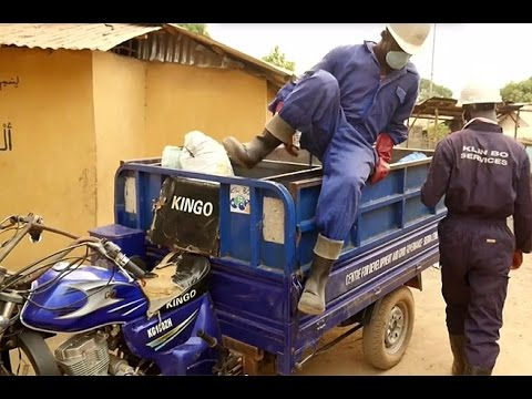 Upcycling and Recycling in Sierra Leone: The trash pioneers of Bo