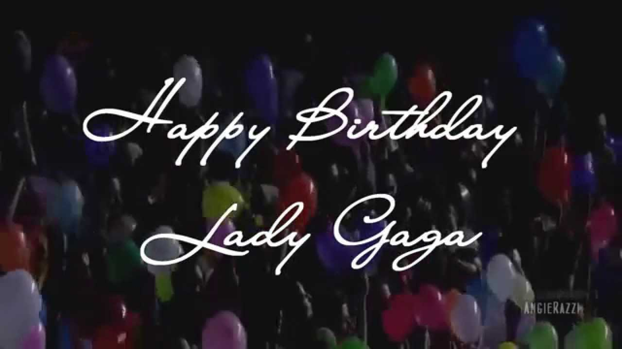 Happy Birthday Lady Images ~ Happy birthday lady gaga from slovak czech little monsters