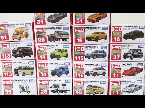 TOMICA New models for the first half of 2019 トミカ 2019年上半期 NEWモデル