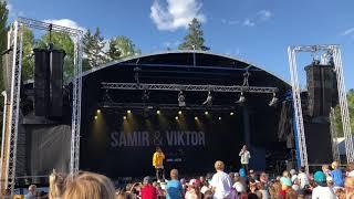 Samir & Viktor spelar upp deras nya VM-låt Furuvik 19/5-18