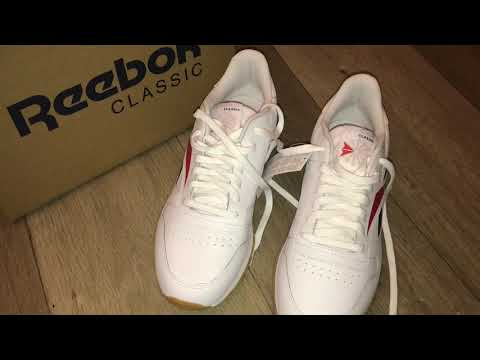 Reebok Classic Leather Vector Обзор