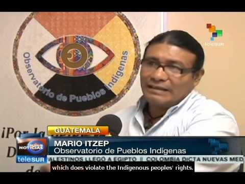 Guatemala: Indigenous and peasants rejecting 'Monsanto Law'
