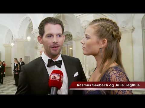 Fantastiske kjoler til kongelig fest på Christiansborg Slot