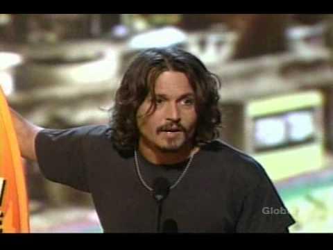 Johnny Depp in Teen Choice Award