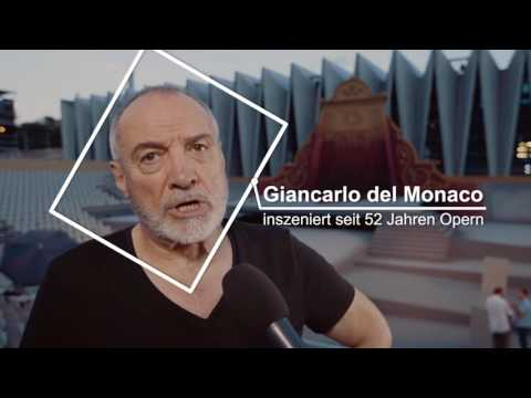 Interview mit Giancarlo del Monaco für die Oper Schenkenberg - Rigoletto