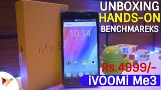 iVoomi Me3 Unboxing Hands-On Benchmarks | One Of The Best Budget Smartphone Under 5000 | Data Dock