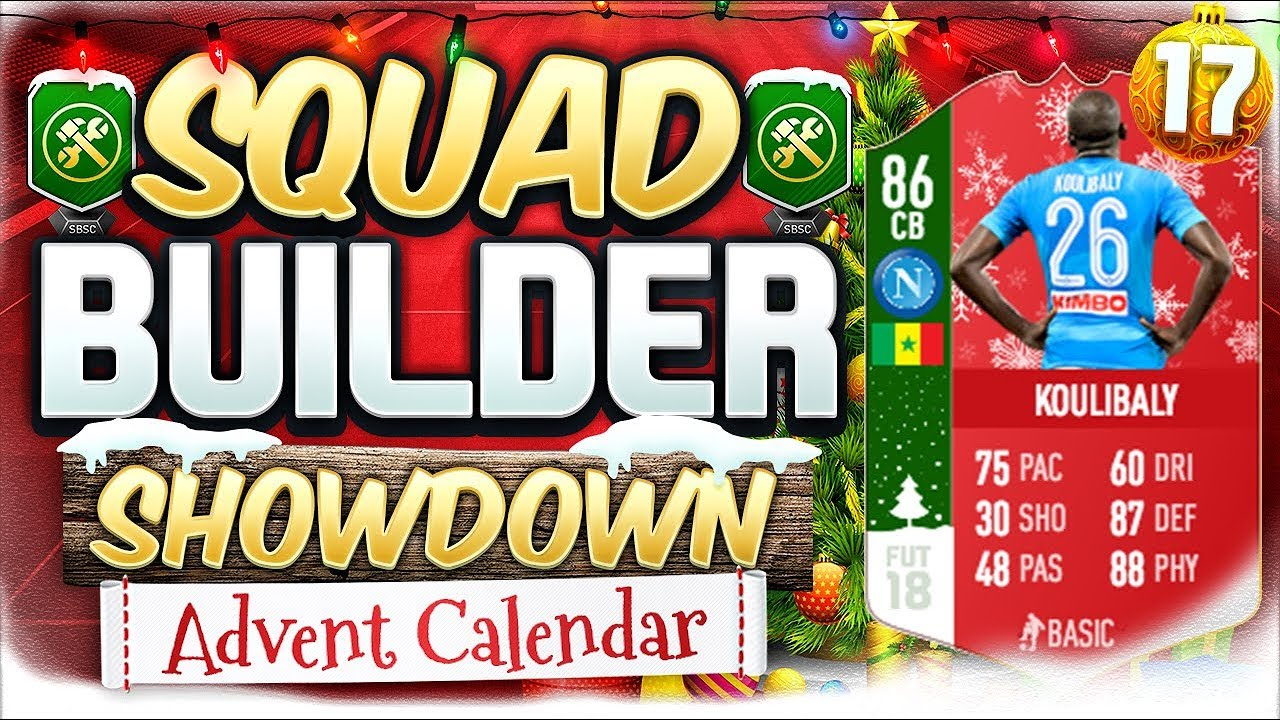 Fifa 18 Squad Builder Showdown Futmas Koulibaly