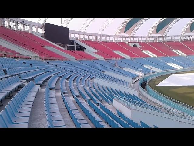 Lucknow Ekana International Cricket Stadium- 360 Degrees view - Never seen before.