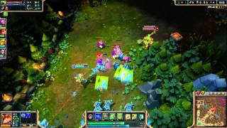 League of Legends - Minion projectile as flash icons [bug]