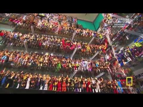 Grims Toy Show on National Geographic wwe figures. - YouTube