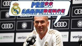 Zidane's pre-Bayern Munich press conference in Houston