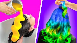 27 BRILLIANT HAIR AND MAKEUP HACKS AND TRANSFORMATIONS
