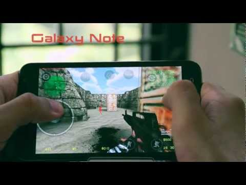 Counter Strike Portable Android Gameplay Full Review : Samsung Galaxy Note | ITF