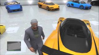 GTA V Online: Meeting one of the richest players in GTA online (garage)
