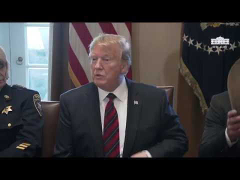 President Trump Hosts a Roundtable Discussion on Border Security and Safe Communities