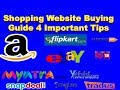 Shopping website buying guide 4 Important Tips