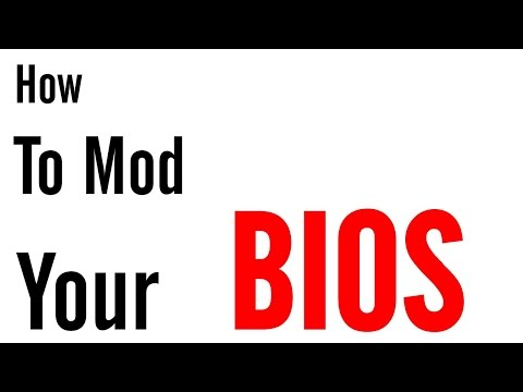 How To Mod Your BIOS on Any Computer - YouTube