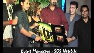 "SOS Nitelife Times Music ""AZAL BAND"" from Pakistan, music launch party in Mumbai"