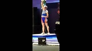Финал Чемпионата России по гиревому спорту, рывок 58 кг - Яременко против Щербиной