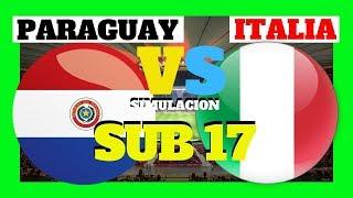 italia vs paraguay mundial sub 17 brasil 2019 paraguay italia sub17 en vivo paraguay italia live